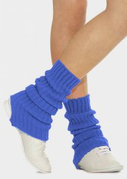 Royal Blue Stirrup Dance Leg Warmers 60cm