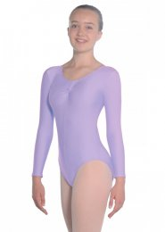 Lilac Martene Long Sleeve Dance Leotard