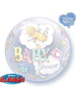 Baby Shower Bubble Helium Balloon