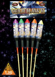 War Hawk Rockets Fireworks Pack 5