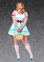 Leg Avenue Plus Size Dorothy Costume