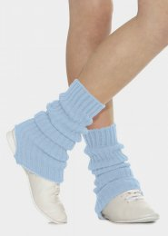 Pale Blue Stirrup Dance Leg Warmers 60cm
