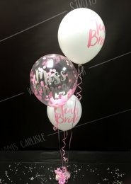 Bride To Be Hen Party Confetti Balloon Cluster