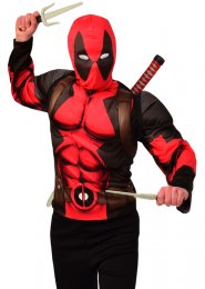 Teen Size Deadpool Costume Kit
