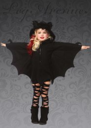 Childrens Leg Avenue Cozy Bat Costume