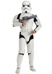 Mens Star Wars Deluxe Stormtrooper Costume