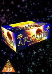 Apocalypse Compound Barrage Firework Display Kit