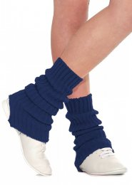 Navy Blue Stirrup Dance Leg Warmers 60cm