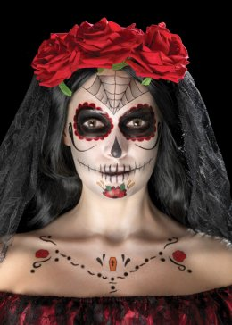 Day of The Dead Transfer Tattoo Make-Up Kit