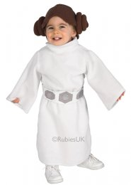 Toddlers Size Star Wars Princess Leia Costume