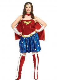 Wonderwoman Sexy Plus Size Costume