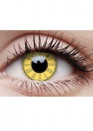 Halloween Timekeeper Steampunk Clock Eye Lenses 1 Year