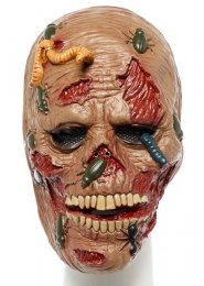 Halloween Scary Insects Zombie Face Mask