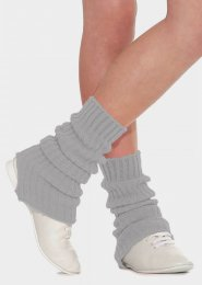 Grey Stirrup Dance Leg Warmers 60cm