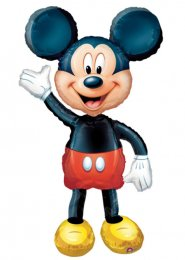 Inflated Large Mickey Mouse Airwalker Helium Balloon