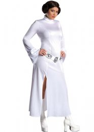 Ladies Plus Size Star Wars Princess Leia Costume
