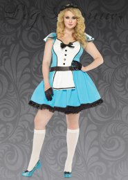 Plus Size Leg Avenue Storybook Alice Costume