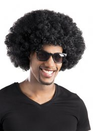 Adult 70s Disco Black Afro Wig