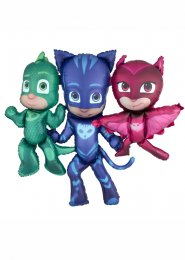 Inflated Large PJ Masks Airwalker Foil Helium Balloon