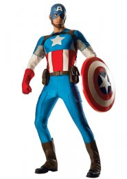 Adult Size Grand Heritage Deluxe Captain America Costume