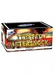 Twisted Aftershock 72 Shot Barrage Firework