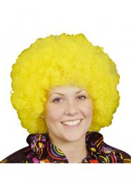 Yellow Pop Wig