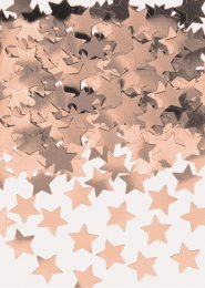 Rose Gold Stardust Star Table Confetti Sprinkles