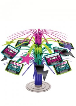Totally 80's Party Mini Table Centrepiece