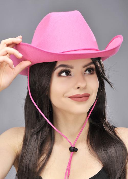 Western Cowgirl Fancy Dress Pink Cowboy Hat 165e0b4c9802
