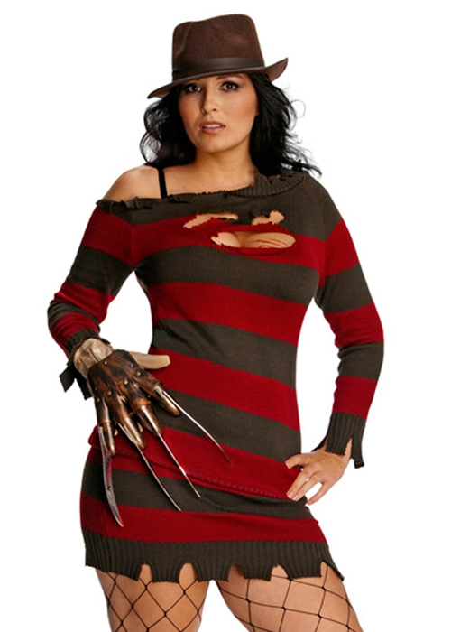 Ladies Sexy Miss Krueger Plus Size Costume