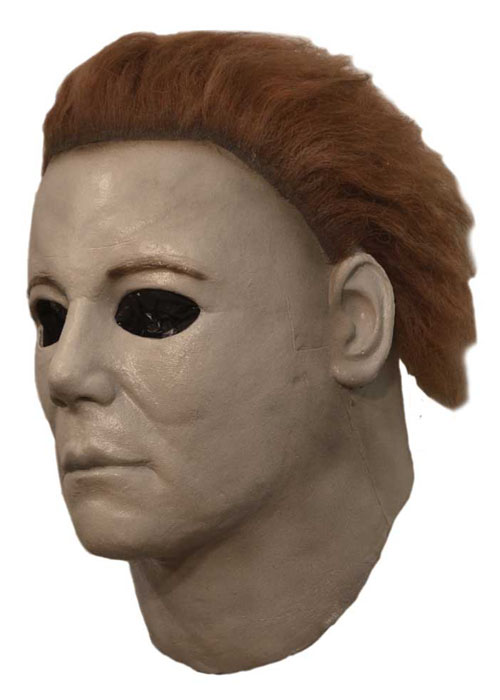 Deluxe Halloween 7 Michael Myers Mask With Hair