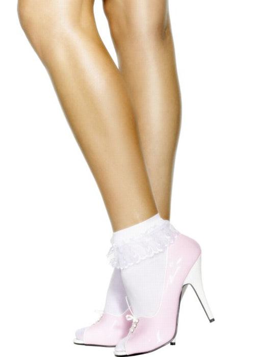 Sexy White Socks Pics 47
