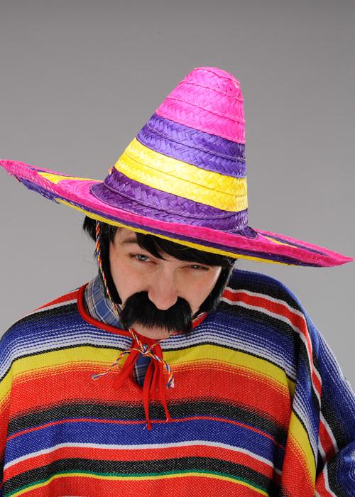 ebbbcfba Mens Large Bright Mexican Sombrero Hat