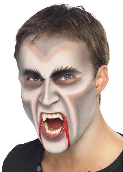 Male vampire makeup