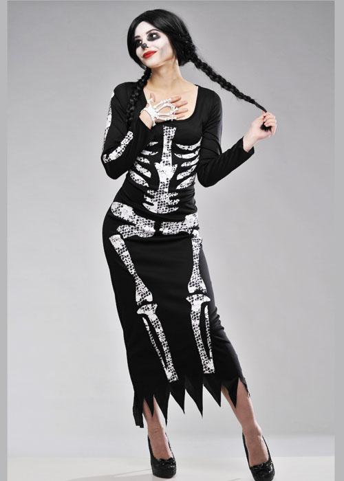 Ladies Halloween Skeleton Costume Ladies Halloween  sc 1 st  Meningrey & Ladies Skeleton Costume Uk - Meningrey