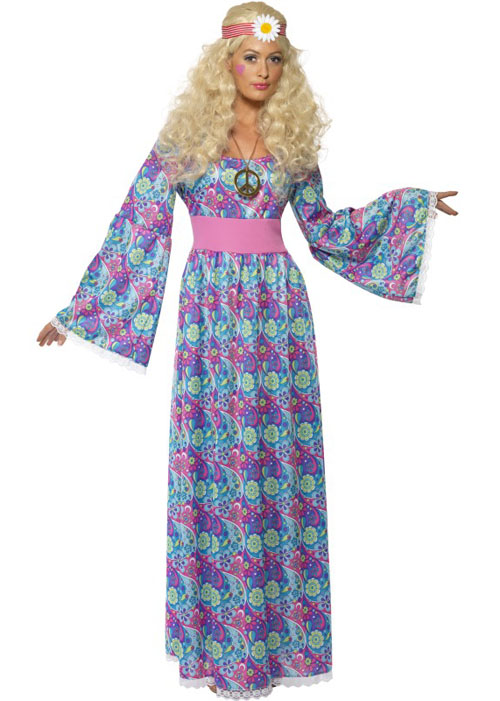 Long 70s dresses