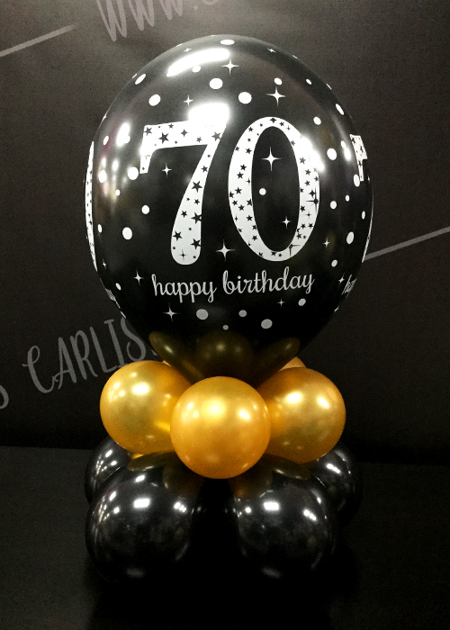 70 Birthday Balloon Centre 2 01