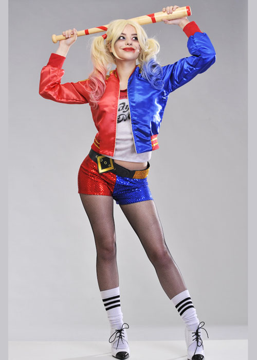 Adult Ladies Suicide Squad Harley Quinn Costume