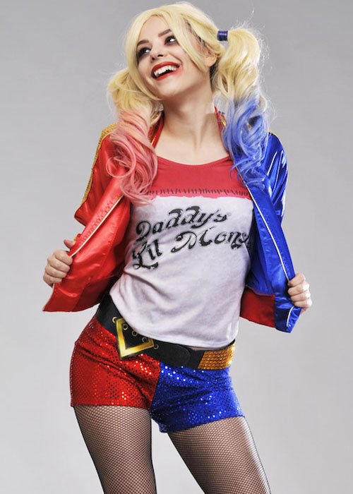 Ladies Suicide Squad Harley Quinn Costume