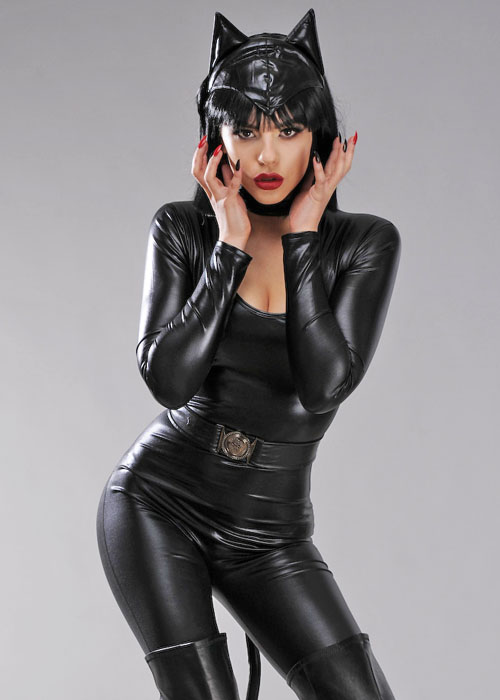 sexy Catwoman-Outfit