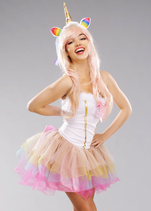 Adult Womens Sexy Unicorn Costume Adult Womens Sexy