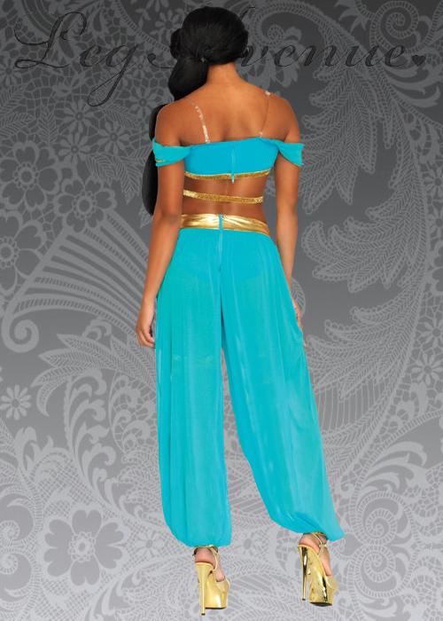 4202270c0e5 Ladies Leg Avenue Oasis Princess Jasmine Costume