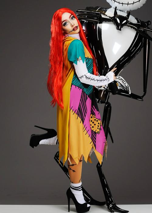 Womens Nightmare Before Christmas Sally Doll Costume