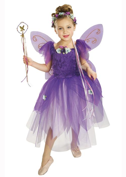 Kids Size Plum Pixie Purple Fairy Costume [882258 ...