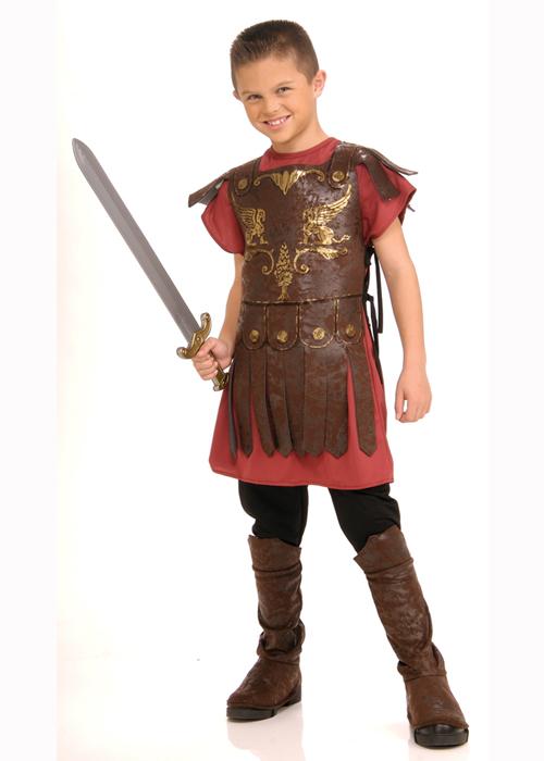 Kids Size Roman Soldier Gladiator Costume