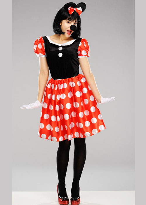 Womens Disney Minnie Mouse Costume