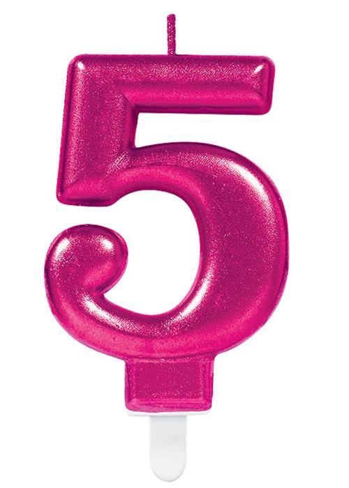 Tremendous Pink Number 5 Birthday Cake Candle 13051730079 Ebay Personalised Birthday Cards Akebfashionlily Jamesorg