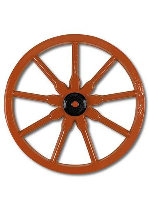 Plastic Wild West Wagon Wheel Party Decoration