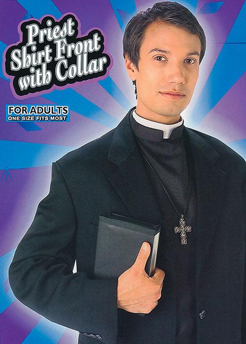 Fancy Dress Vicar Dog Collar