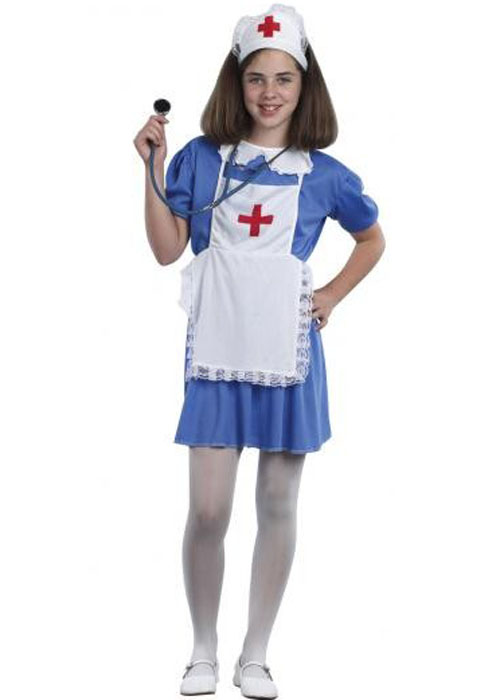 How to dress up for night party 25 cute night party outfits - Kids Size Blue Nurse Uniform Costume Ebay